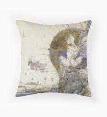 Fantasy in a dream. Throw Pillow