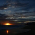 Cloudy Rota Sunset by fototaker