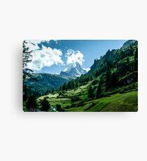 zermatt (002), (matterhorn) Canvas Print
