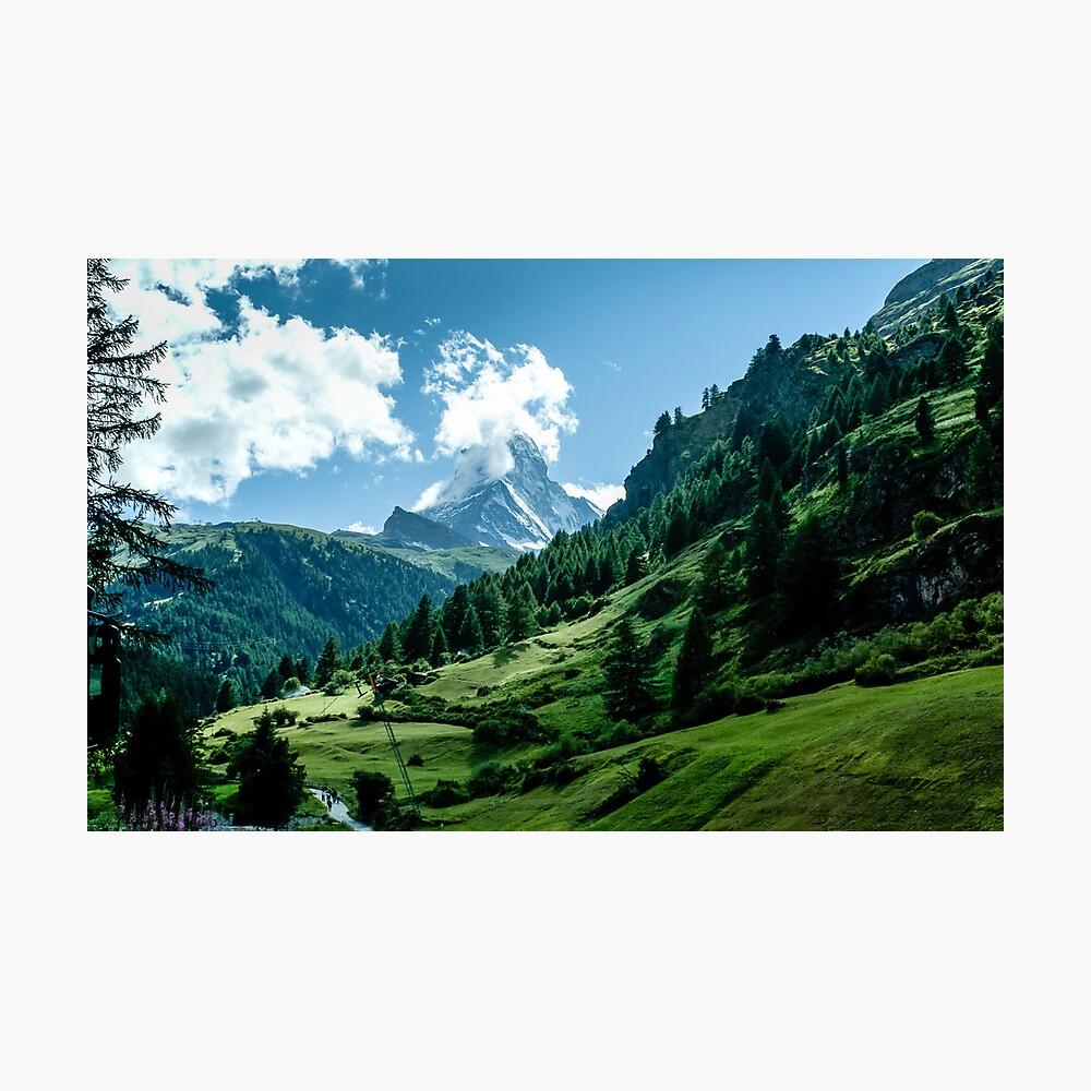 zermatt (002), (matterhorn) Photographic Print