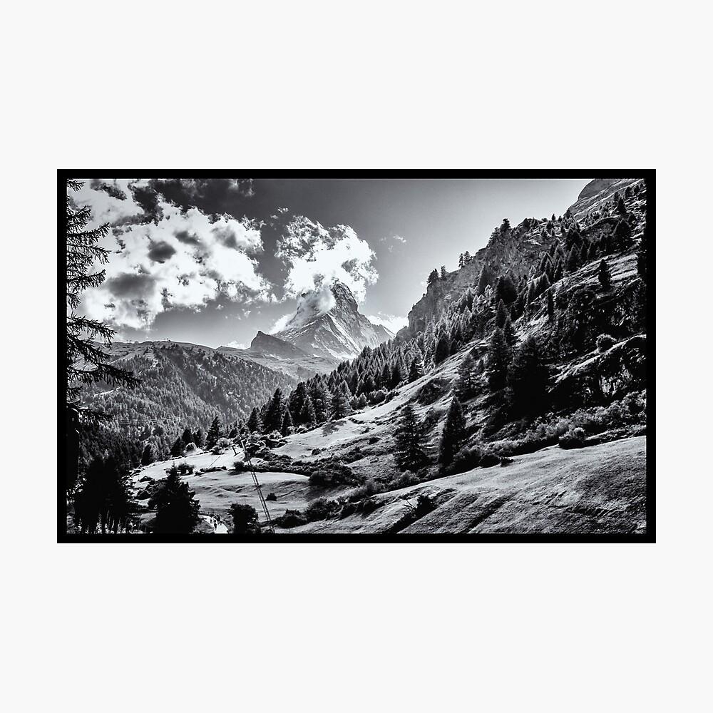 zermatt (003), (matterhorn) Photographic Print