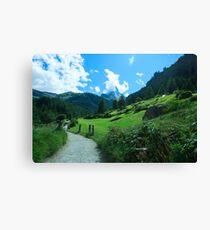 zermatt (004), (matterhorn) Canvas Print