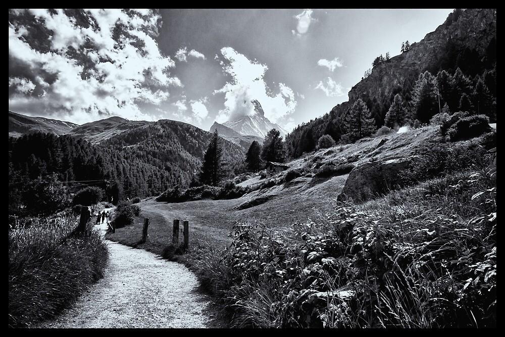 zermatt (005), (matterhorn)  by dirk hinz