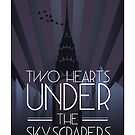 Two Hearts Under the Skyscrapers by swashandfold