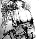 LifeDrawing Study 7. by Andy Nawroski