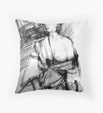 LifeDrawing Study 7. Throw Pillow