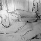 Life Drawing Study 12. by Andy Nawroski
