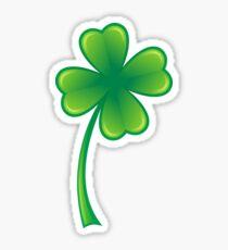 Four leaf clover sticker Sticker