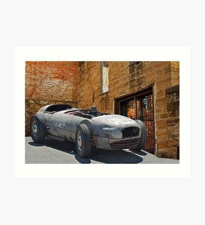 193X WTH IZIT Race Car I Art Print