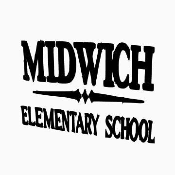 Midwich Elementary School Silent Hill by Fir3Fly