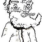 Ugly Santa 3 by Tristan Klein