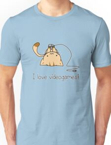 Gamer cat Unisex T-Shirt
