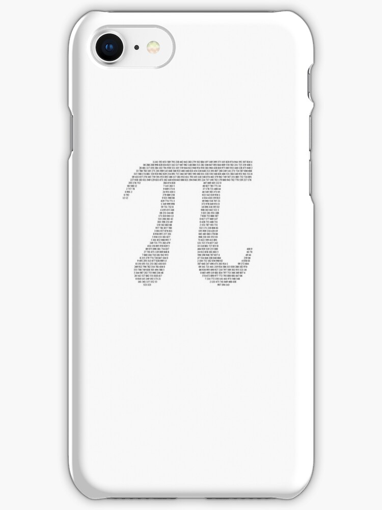 White Pi Typography by Doyle1995