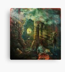 The double-slit experiment in antiquity. Canvas Print