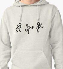 Dancing Stickmen Pullover Hoodie