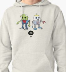 Zombie+Bot Pullover Hoodie