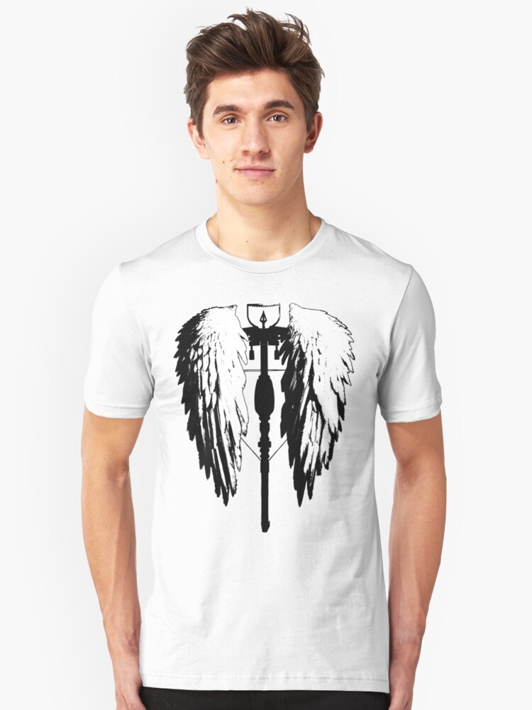 Crossbow wings Unisex T-Shirt Front