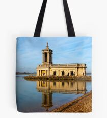 Reflections on Normanton Church Tote Bag