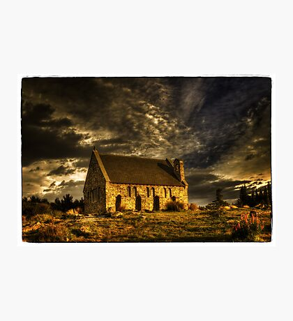 Church of the Good Shepherd - Lake Tekapo Photographic Print