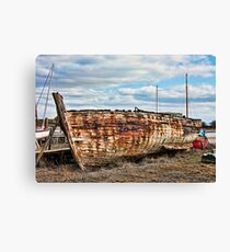 Collapsed Canvas Print