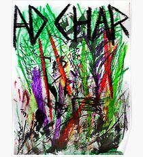Rainbow Stalks Poster