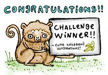 Cute Children's Illustrations! Challenge Winners' Banner by Sophie Corrigan