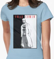 Omar Comin' Womens Fitted T-Shirt