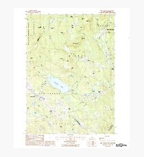 USGS TOPO Map New Hampshire NH New London 329709 1987 24000 Photographic Print