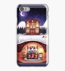 Christmas in the Burrow iPhone Case/Skin