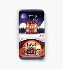 Christmas in the Burrow Samsung Galaxy Case/Skin