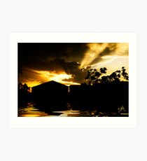 Beauty After The Storm Art Print