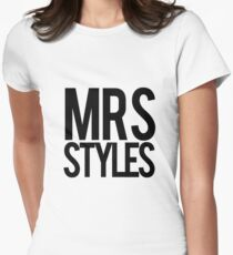 Mrs. Styles Womens Fitted T-Shirt
