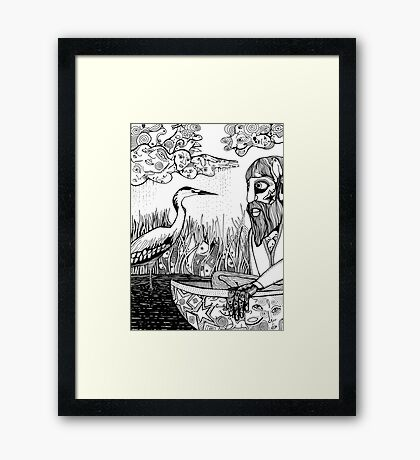 Old Man's Beard 6 Framed Print