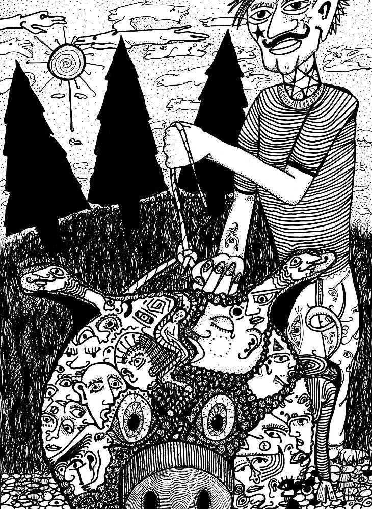 Old Man's Beard 4 by Cameron Limbrick