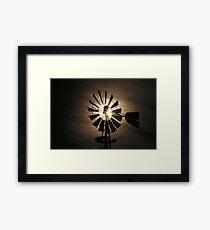 Wind Mill  h  Framed Print