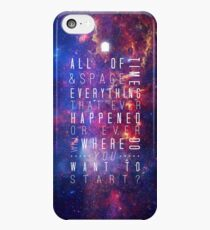 Where Do You Want To Start? iPhone 5c Case