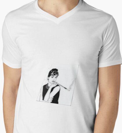 Audrey Notebook Paper T-Shirt