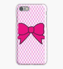 Ribbon - Pink iPhone Case/Skin