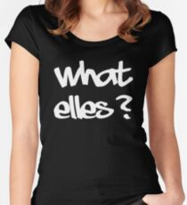 what else? Women's Fitted Scoop T-Shirt