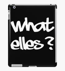what else? iPad Case/Skin