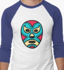 Mexican Wrestling Mask - Lucha Libre Men's Baseball ¾ T-Shirt