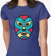 Mexican Wrestling Mask - Lucha Libre Women's Fitted T-Shirt