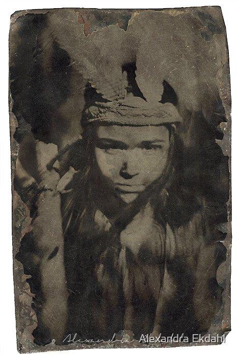 feathergirl. by Alexandra Ekdahl
