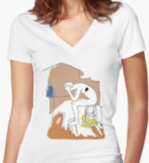 Biffy Clyro - Puzzle Women's Fitted V-Neck T-Shirt
