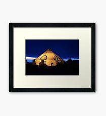 Shearer Camp Framed Print
