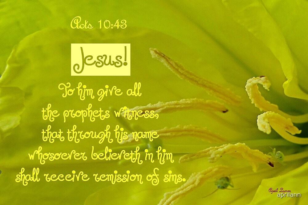 Whosoever Believeth by aprilann