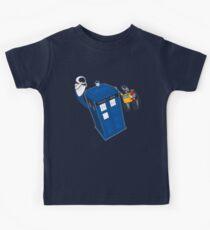 Tardis Space Dance - Wall-e & Eve Kids Clothes