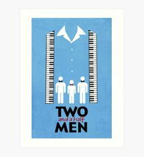 Two and a Half Men Art Print