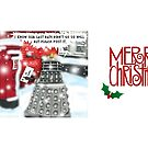 A Post Christmas Dalek by ToneCartoons