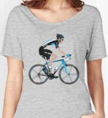 Bradley Wiggins Team Sky Women's Relaxed Fit T-Shirt